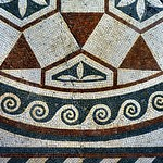 Roman floor mosaic, Museo Nazionale Romano, Palazzo Massimo alle Terme, Rome - https://www.flickr.com/people/11200205@N02/