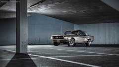 grey 1967 Ford Mustang Coupe - Shot 6