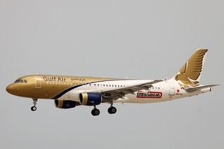 Gulf Air A320 A9C-AJ