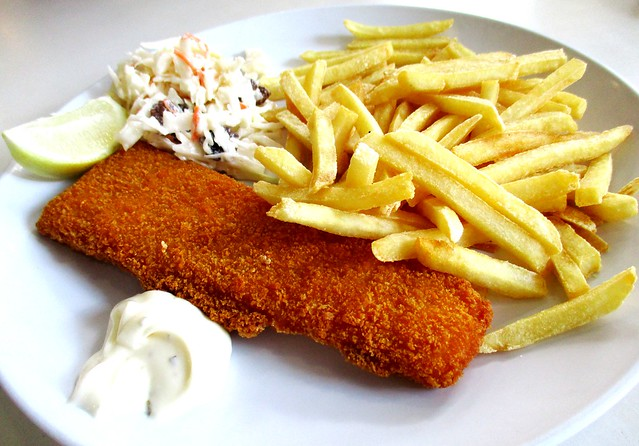 Sugar Bun fish & chips