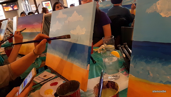 Paint Nite at The Goose: A Firkin Pub