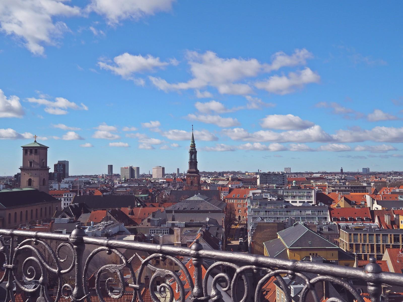 kööpenhamina rundetårn näköalatorni pyöreätorni