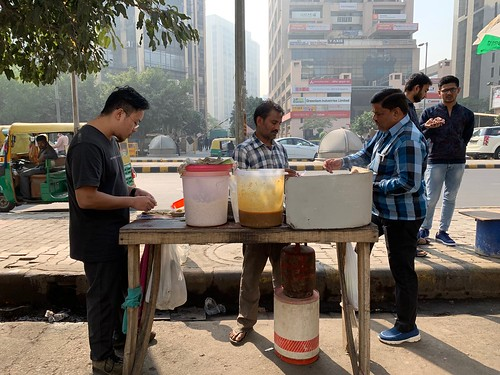 City Food - Aloo Paratha, Barakhamba Road