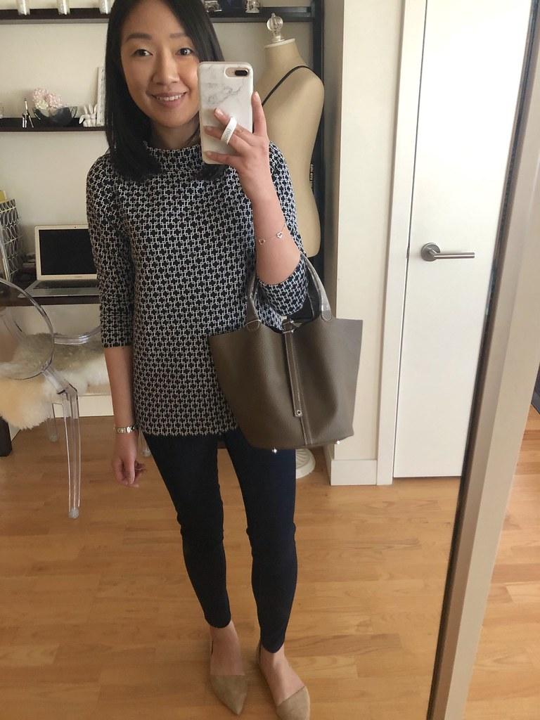 Ainifeel Top Handle Handbag in dark taupe