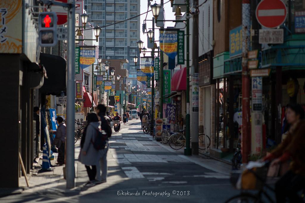 Keiseiokubo shopping district