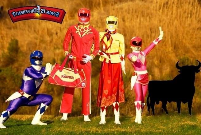chandal Power Rangers España