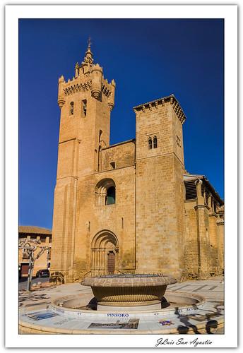 Iglesia de San Salvador (Ejea de los Caballeros)... **Zaragoza**