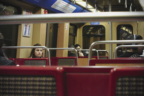 End of day commute... #commute #subway #lisbon #portugal #street #sonyrx100 #t3mujinpack