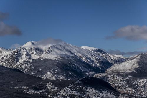 rockymountainnationalpark outdoor hike snow lillymountain cloud mountain blue