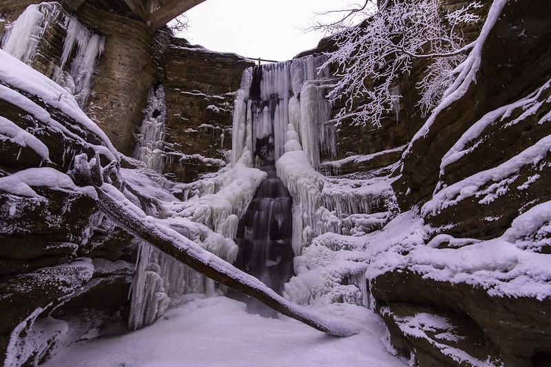 Frosty Lake Falls
