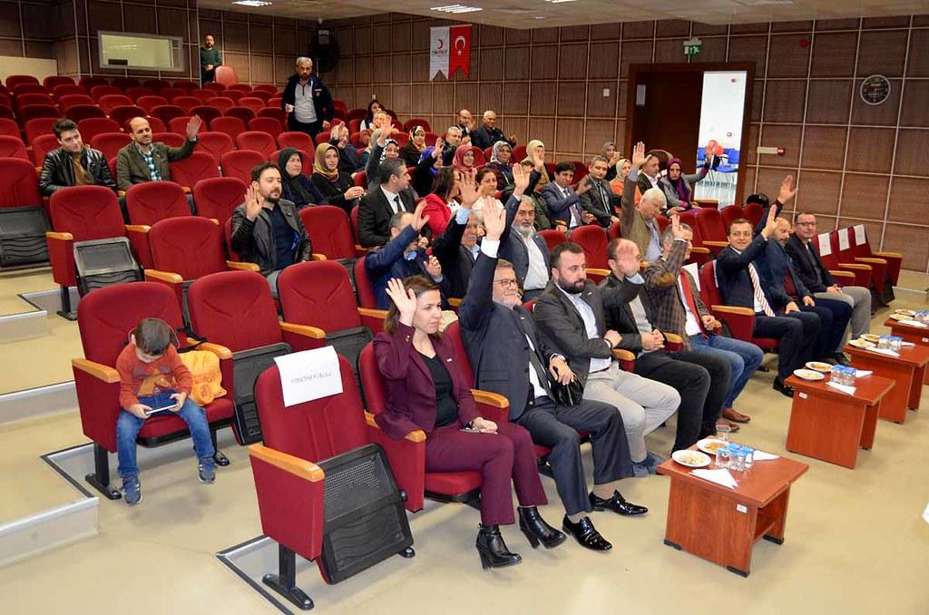 Türk Kızılay Derneği Alanya Şubesi'nde görev değişimi