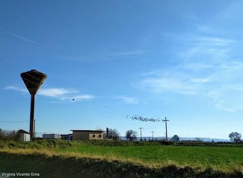 El silo de torres de berrellen