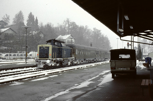 DB 211 034 Deggendorf Hbf 21.02.1993