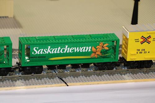 The always popular Saskatchewan Grain Cars
