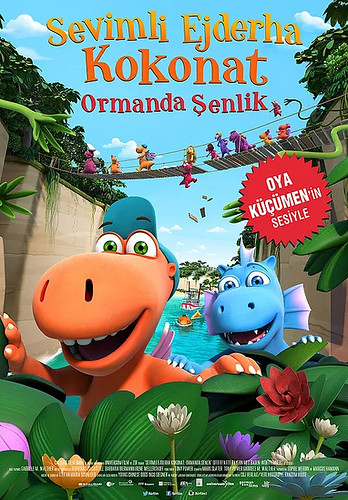 Sevimli Ejderha Kokonat: Ormanda Şenlik - Coconut The Little Dragon: Into The Jungle (2019)