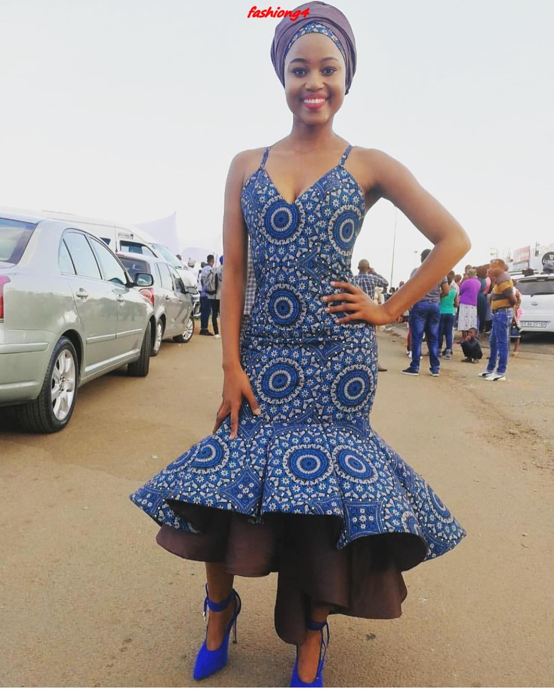 Shweshwe Dresses 2019 Part 2 ⋆ Fashiong4
