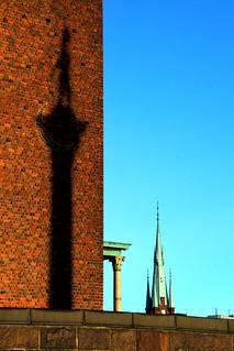 Imagine de Engelbrektsstatyn. stockholm stadshuset stadshus stockholmsstadshus engelbrektsstatyn kungsholmen sverige suede sweden schweden giåm guillaumebavière