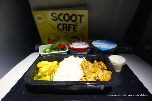 Scoot Cafe - Stew Chicken with Rice