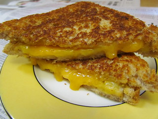 Grilled Cheese and Bananas