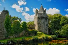 Le château de Largoët, Elven Morbihan