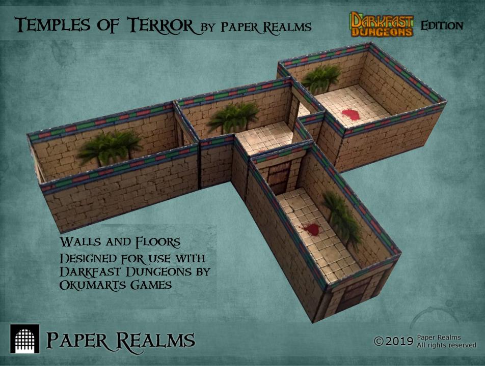 Temples of Terror: Darkfast Dungeons Edition