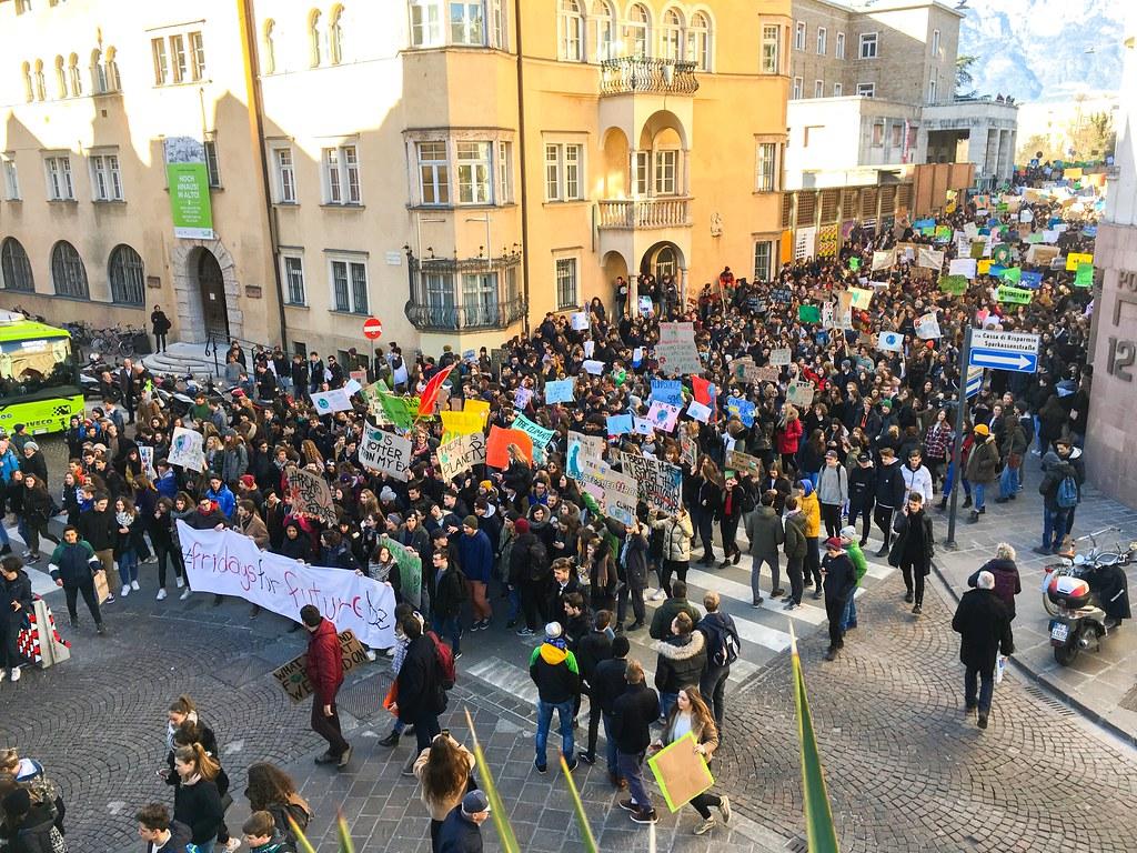 為氣候罷課。campact(CC BY-NC 2.0)