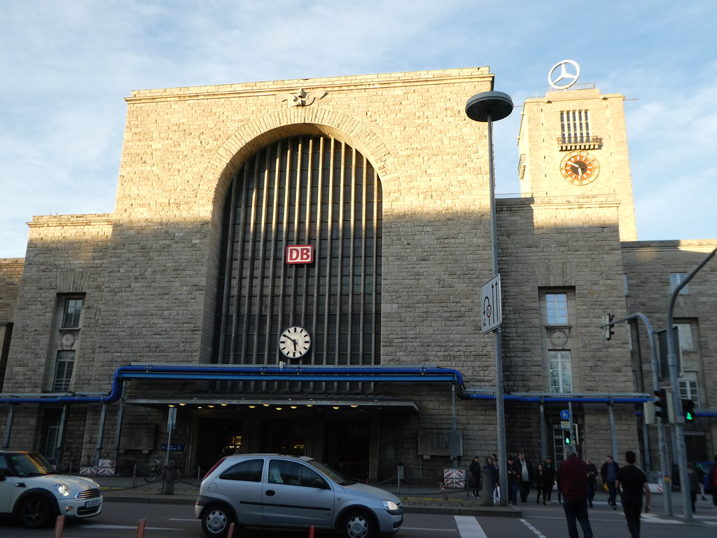 Stuttgart Central Railway Station