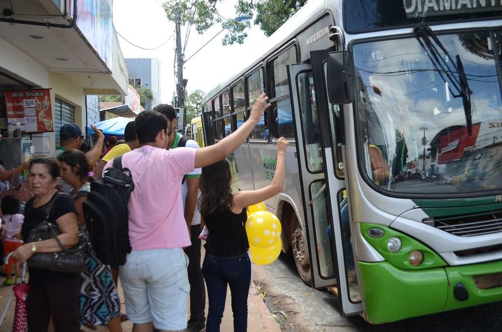 Justiça mantém contrato de concessão de empresa de ônibus; OAB pediu revogação , Ônibus em Santarém