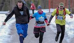 Zimní běh na Blaník dokončil rekordní počet startujících