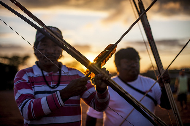 Medida de Bolsonaro vai afetar pelo menos 232 áreas que estavam com estudos em andamento na Funai - Créditos: Mídia NINJA / Mobilização Nacional Indígena