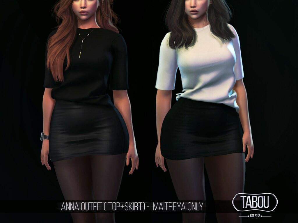 Anna Outfit @ A+ event - TeleportHub.com Live!