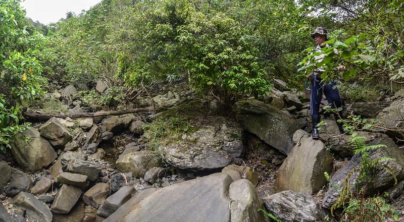 安朔溪兩支流匯流處(H 269 m) 1