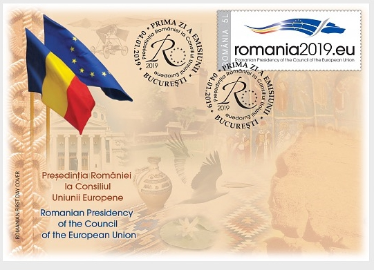 Romania - Council of the European Union Presidency (January 4, 2019) first day cover