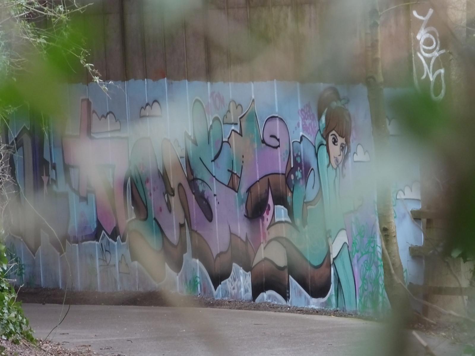 Taff Trail street art 2019