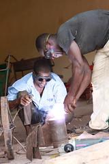 Blacksmith -  Bobo  Dioulasso, Burkina Faso