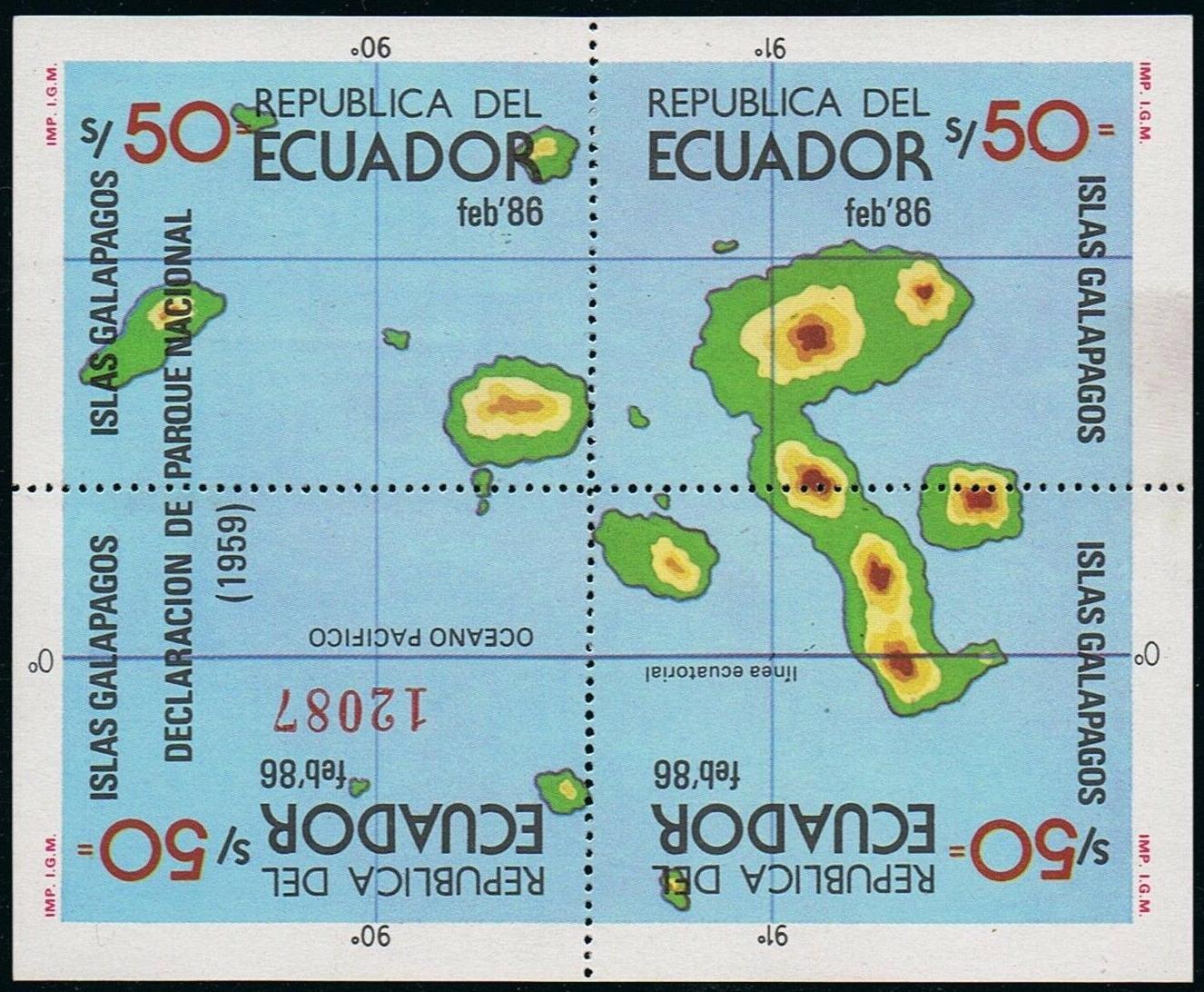 Ecuador - Scott #1122 (1986)