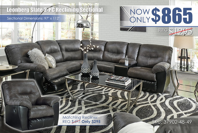 Leonburg Slate_2-PC Sectional_37902-MOOD-A