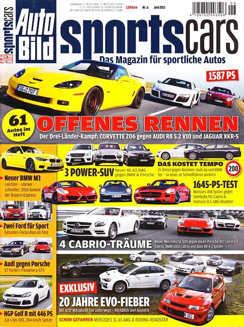 Auto Bild Sportscars 6/2012