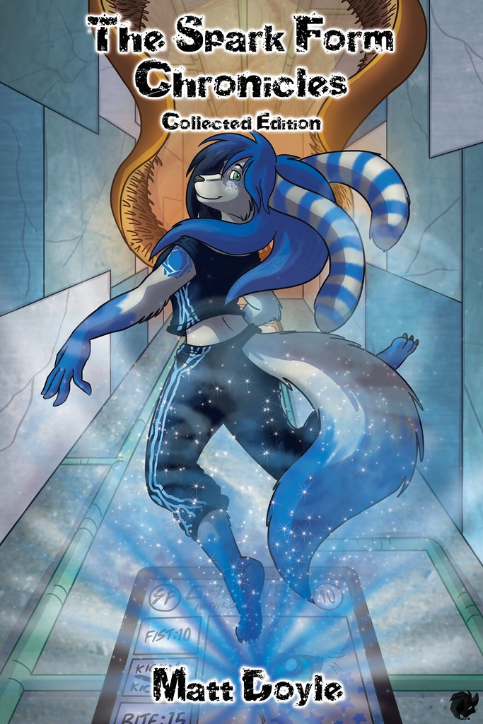 The Spark Form Chronicles Collected Edition Matt Doyle GameLit Card Gaming Sci-Fi Furry LGBTQ