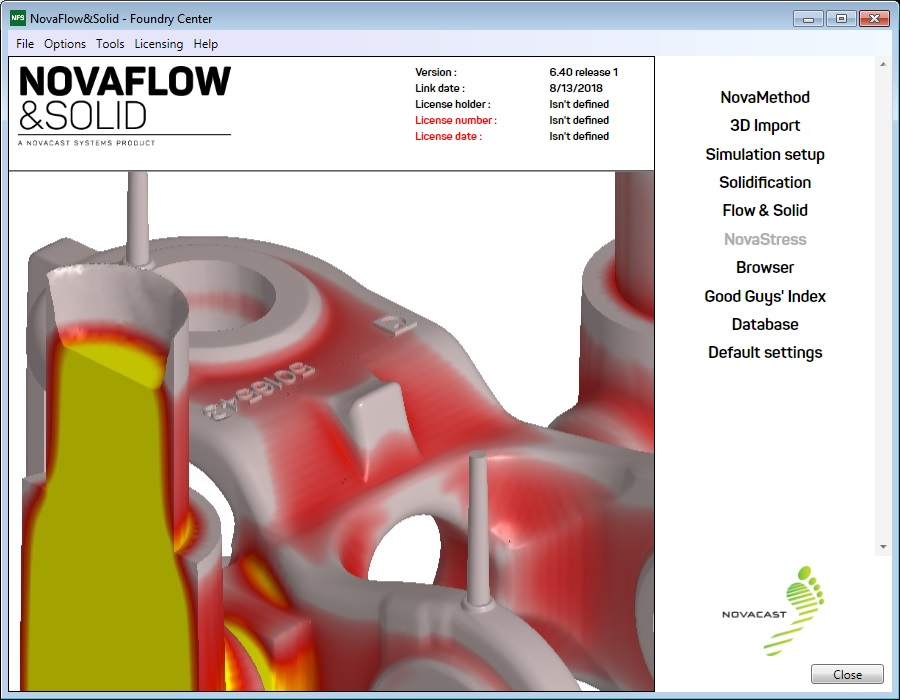 Download NovaFlow&Solid CAST 6.4r1 Win64 full license forever
