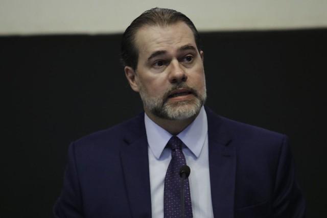 A pedido do presidente da Corte, ministro Dias Toffoli, a PF fez busca e apreensão nos endereços de dois internautas - Créditos: Fabio Rodrigues Pozzebom/Agência Brasil