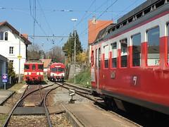 Bonfol ist ein grosser Abstellbahnhof - viele Fahrzeuge für wenige Züge