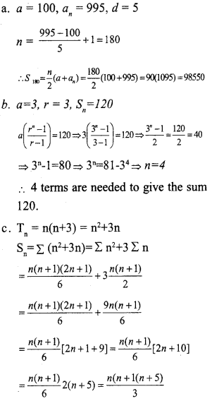 Plus One Maths Model Question Papers Paper 4A20