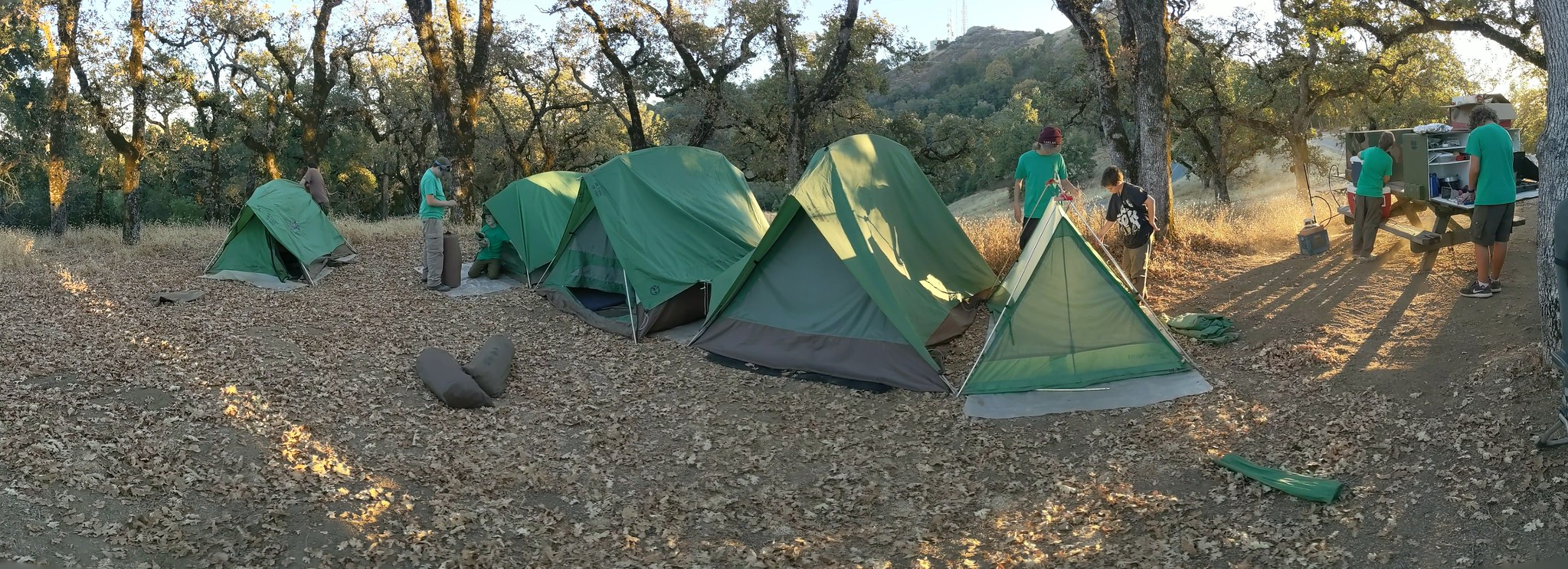 Troop 633's Freemont Peak Camp