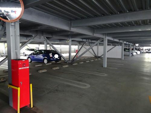 としまえんの駐車場の混雑
