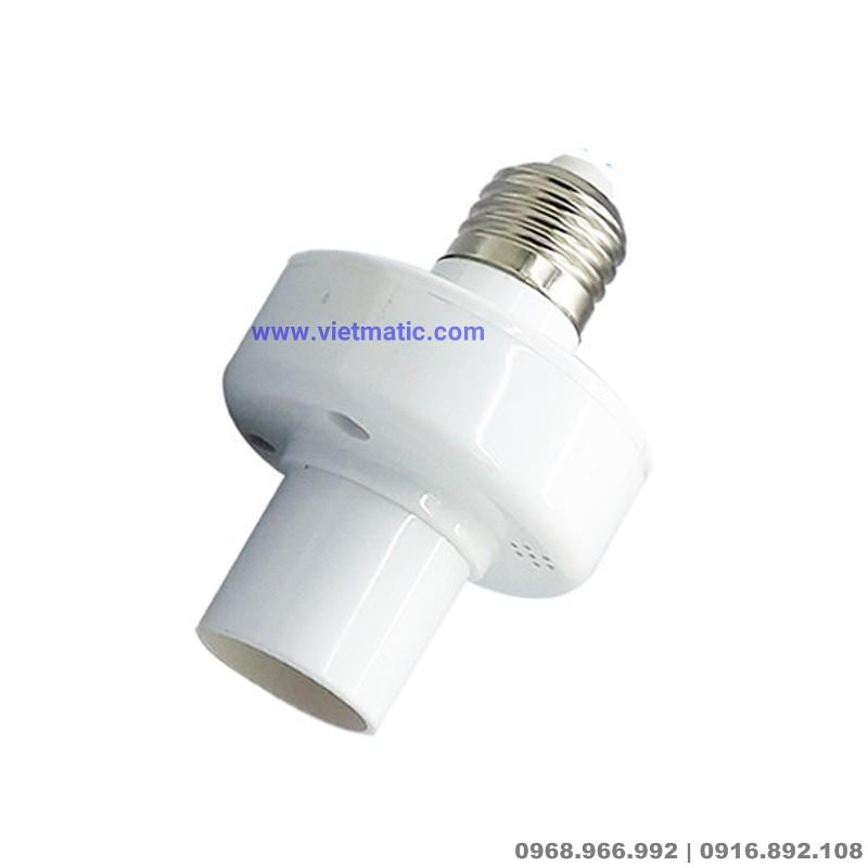 Đuôi đèn  SONOFF® E27 biến bóng đèn thường thành đèn thông minh, kết nối Wifi 4