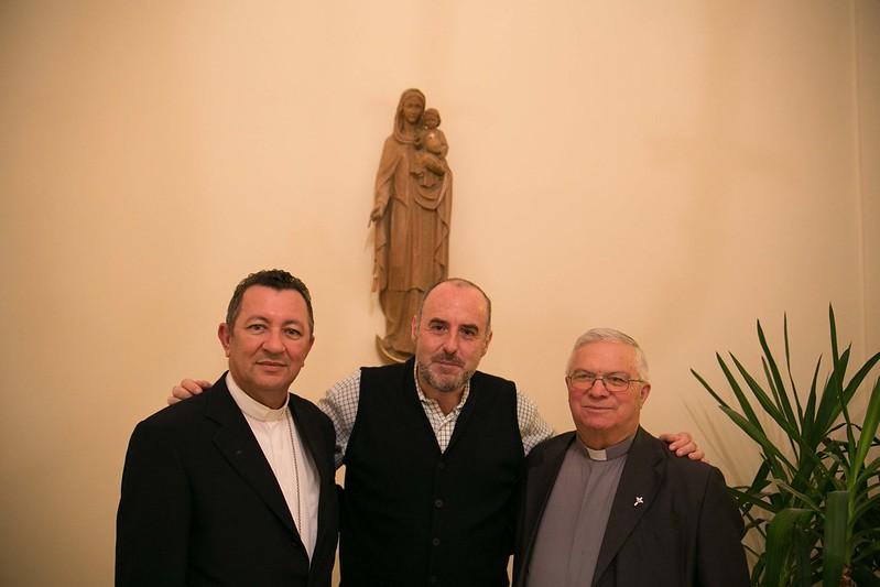 Bishop João Costa visiting