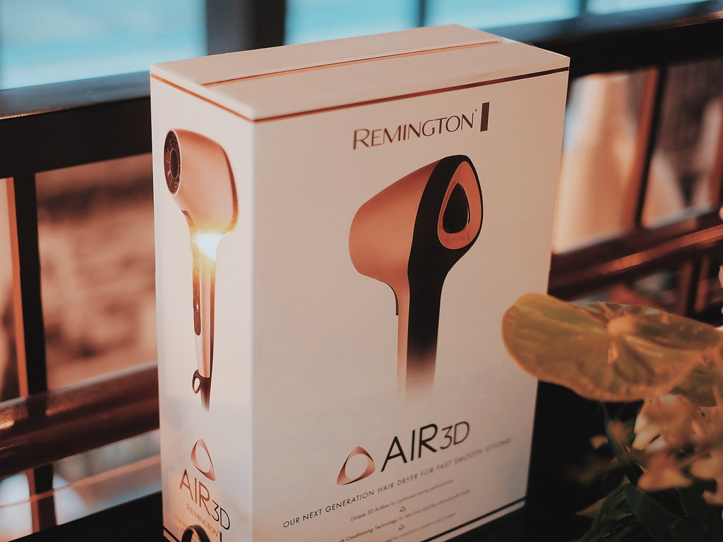 Remington Air 3D Hair Dryer in Rose Gold Philippines