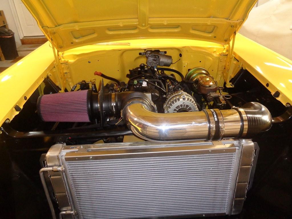 "Spectre Performance 9709 4/"" Straight Aluminum Intake Tube"