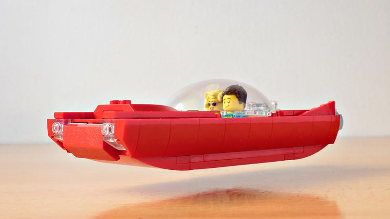 Lego Retrofuture Hover Car